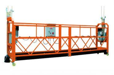 2.5mx 3 adran 1000kg cyflymder codi llwyfan mynediad croes 8-10 m / min